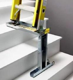 Ladder-Aide on ladder