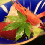First summer lunch Hamana Lake Royal Hotel in Enshu-Nada cooking of Japan""