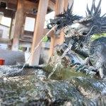 富山の街中に流れ、県民に愛される「石倉町延命地蔵尊の清水」