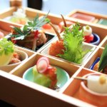 Japan cuisine-Enshu Nada Royal Hotel in the Hamana Lake full of colorful summer lunch