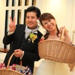 See Mitsutoshi & Rie wedding party in portetheater ' of the photo album