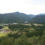 Raichou Valley, overlooking Tateyama Mountain foothills and Toyama Bay! Ride the gondola to the Summit of the 1,188 m!
