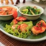 Dinner at the Peninsula Bangkok Thai restaurant 'tiptla' exotic