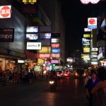 To the glittering neon lights to look into a different day and night face 'Silom' thaniya, Patpong red light district