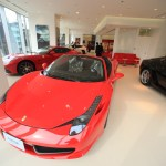 Deploy two floors of breathtaking cornes Ferrari Nagoya new transfer open source was Chikusa-Ku