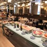 """文華東方臺北""""咖啡館 en de 三河""""在我們廣泛的早餐"""
