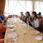 "Hamanako Royal Hotel in Maserati lunch meeting with ""bombosur"""