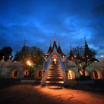 "Fascinated by the world of the night fantastic scenery ""Dhara Dhevi Chiang Mai"""