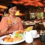 """市美食! """"Silks Place Tainan 台南晶英酒店"""" 豐盛的自助式早餐拼盤 """"西方版"""""""