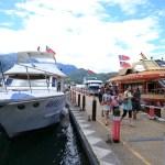 巡航享受從湖的壯觀景色搭乘日月潭的遊船!