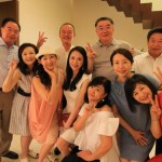The second party of the wedding party held at a friend's house near Grandma for Taipei!