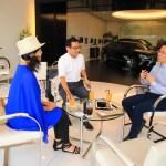Converse Lexus Toyama Shinagawa Group President and Udo Takeuchi and Toyama activation