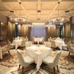 """Taipei beautiful Fuzhou University Hotel Grand Mayfull"" restaurant GMT you can enjoy original Italian f French"