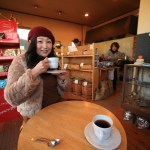 "Fukuroi ""blister and Japanese restaurant and roasted coffee beans day gone stiff coffee time"