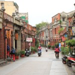 "Recommended cheap! Taiwan taxi Charter! (2) northalgic Street 3 gorges old town""."