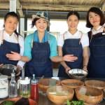 「プロミスドランド花蓮」手作りピッツァ教室と草花で染める匂い袋体験!