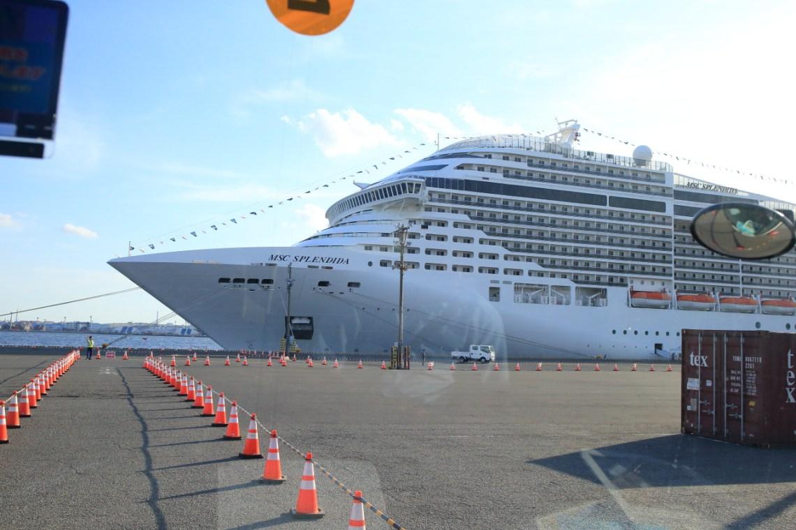 """To the VIP luxury passenger ship """"MSC splendida"""" Italy's ..."""