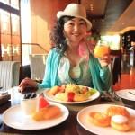 """""""文華東方上海"""" 經過優雅的早餐, 沿著河畔長廊散步"""
