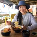 駕駛和用餐部聲明陳庫裡島的海灘, 而沖繩午餐