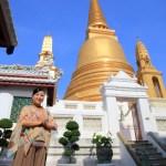 カオサン周辺を散策!タイの王族ゆかりとなる格式高い第1級王室仏教寺院へ!