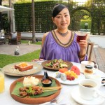 """""""The Siam The Siam"""" Enjoyablissful breakfast time in the southern atmosphere at The Siam Riverside Terrace!"""