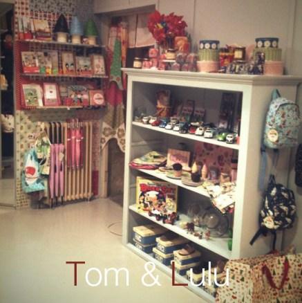 La boutique de Tom et Lulu