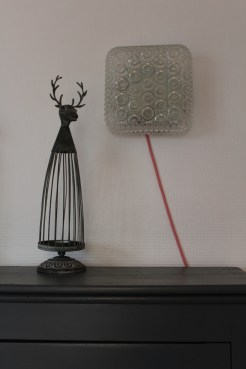 Lampe plafonnier rénovée
