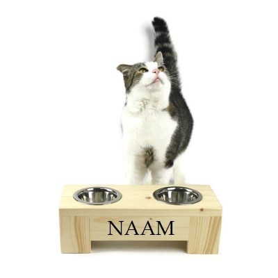 kattenvoerbak luxe 11 cm hoog 35 cm breed
