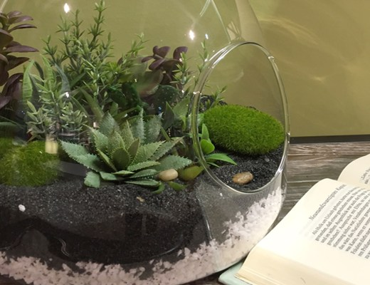 DIY TERRARIUM plantes artficielles