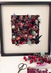 resultats tableau DIY fleuris