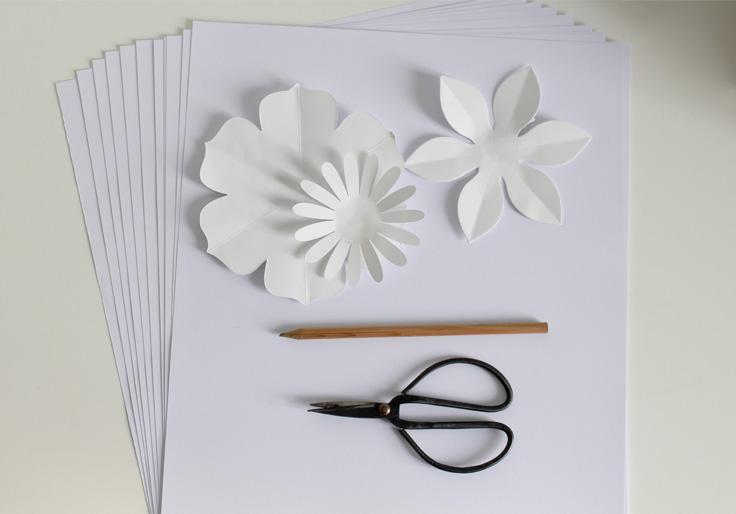 Diy Creez Facilement Vos Fleurs En Papier La Delicate Parenthese Diy Deco Et Inspiration Deco