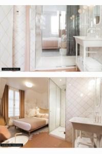 details chambre rose lapin blanc