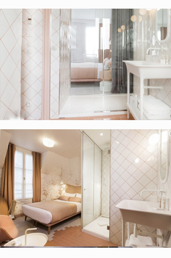 chambre rose lapin