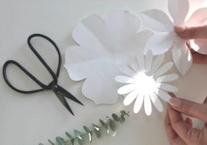 Gabarit DIY fleur
