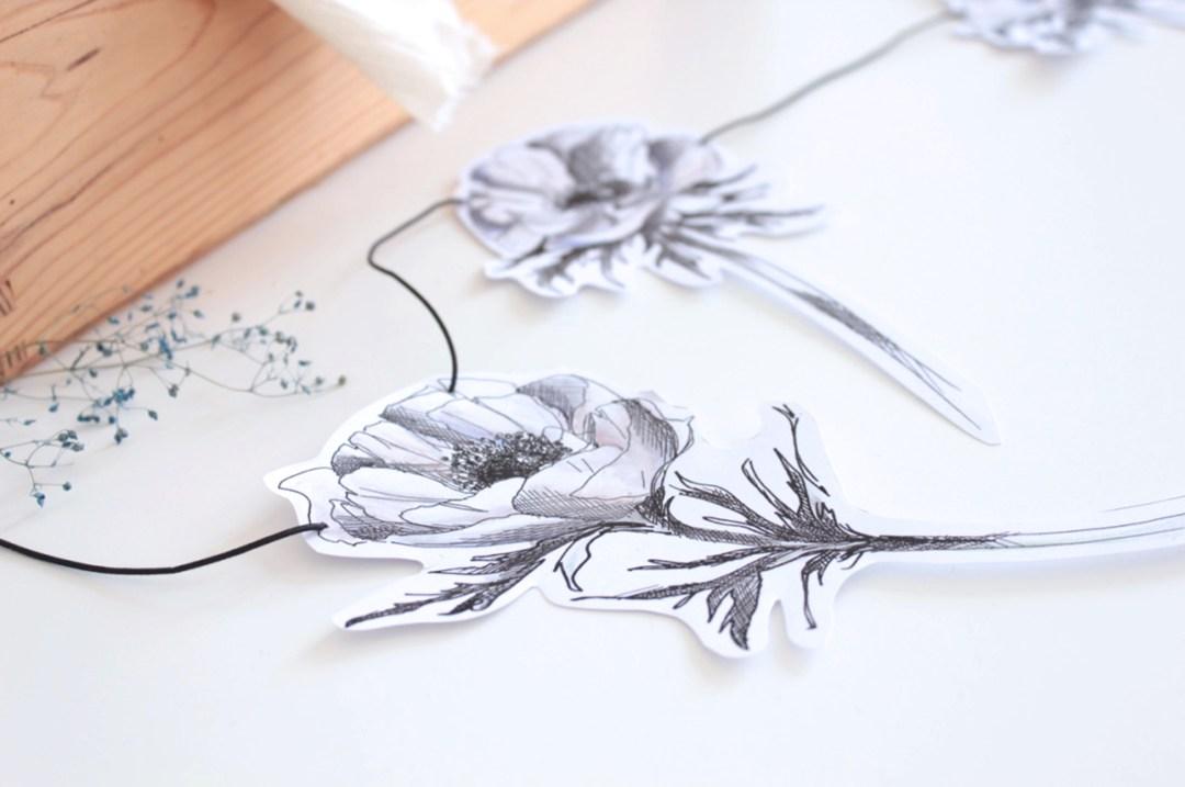 guirlande anemones