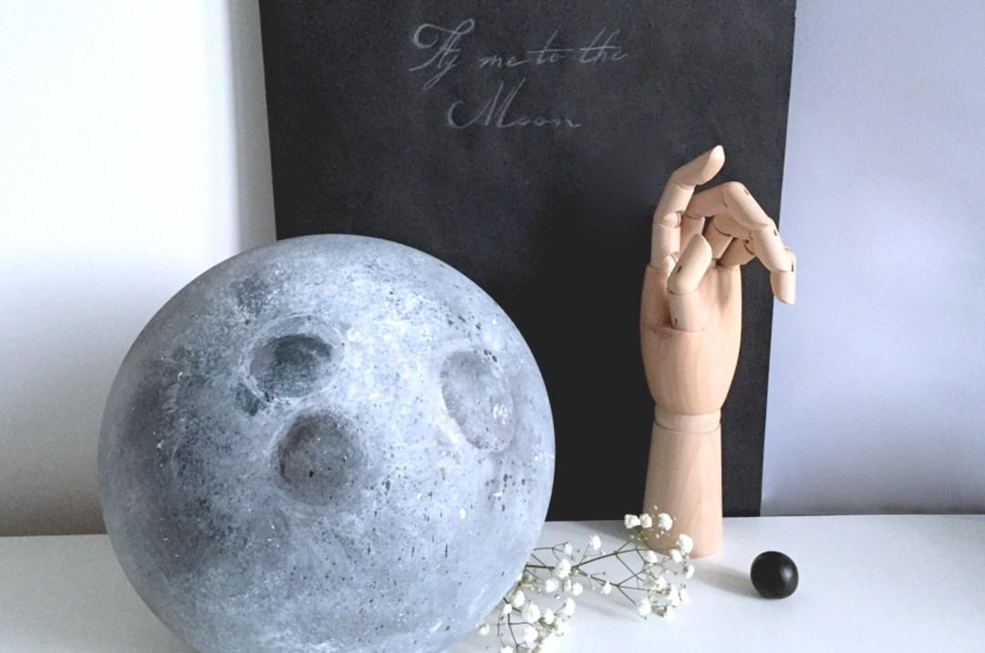 DIY lune couverture