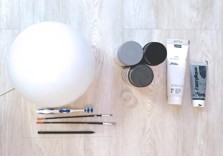 Outils necessaires DIY Lune