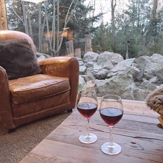 verre de vin yukon lodge