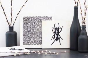 DIY insectes et curieuses bestioles façon cabinet de curiosités