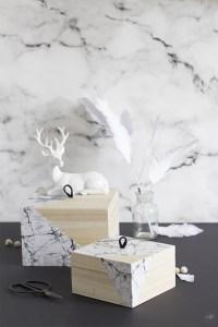 boite marbre DIY création