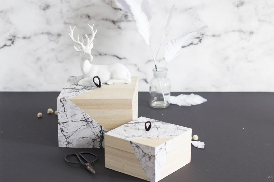 boite DIY création marbre