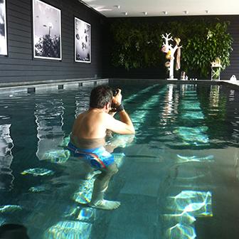 spa photographe projet Yves rocher