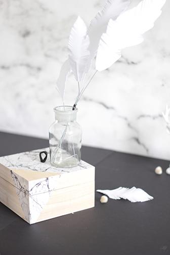 pimper sa boite marbre DIY