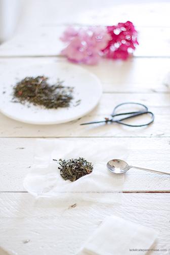 DIY La Délicate Parenthèse création sachet de thé