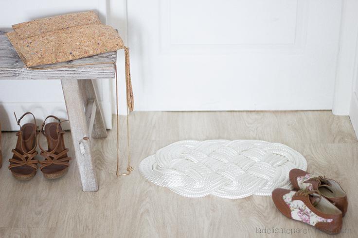 tapi handmade tissage La délicate parenthèse création blog DIY