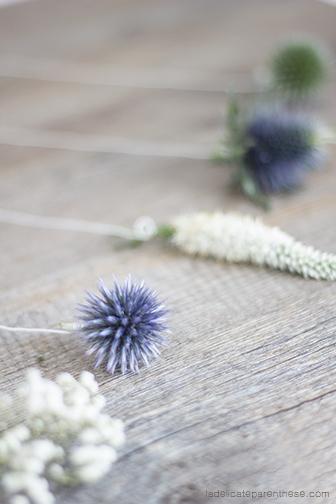 Collection de Sachets de thé fleuris, création pour l'heure de thé cocooning automnal