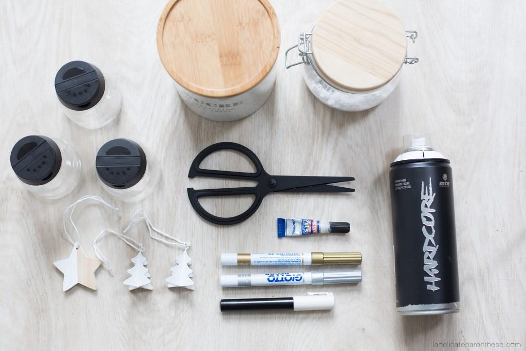 outils DIY boule à neige ludique en IKEA HACK
