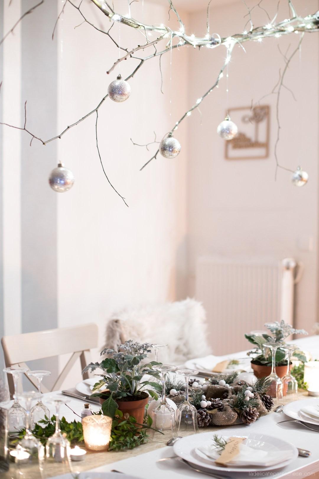Table de fête création vegetale