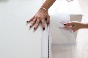 DIY décoration une serre intérieure dans un meuble IKEA découpe du plexiglass