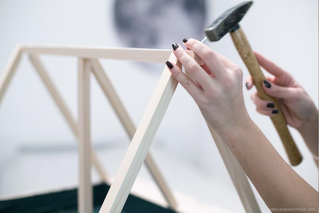 Création DIY blog deco inspiration serre végétale en IKEA HACK